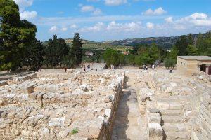 site antique en crete